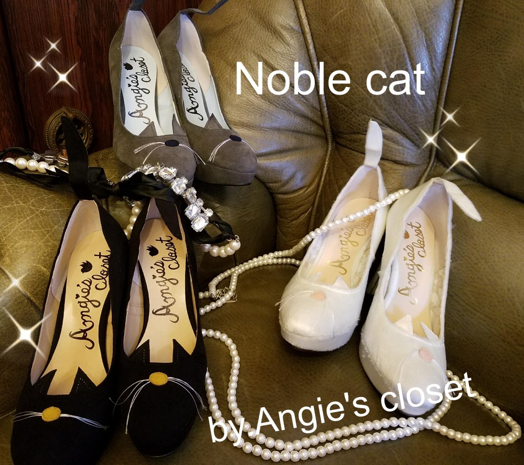 ネコちゃんパンプス【Noble cat】